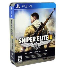 PS4 PS4 SNIPER ELITE 3 COLLECTOR'S EDITION AMMO TIN BOX