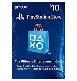 PSN PSN $10 Network Card