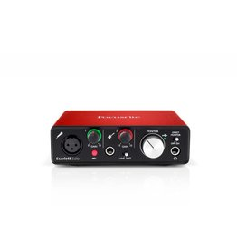 Focusrite Focusrite SCARLETT SOLO Audio Interace Bundle