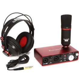 Focusrite Focusrite SCARLETT 2I2 Bundle Condensor Mic, Headphones
