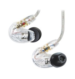Shure Shure SE215-CL Sound Isolating Earphones with Single Dynamic MicroDriver