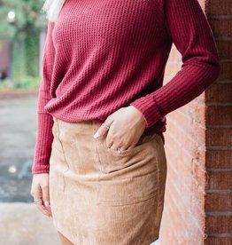 HYFVE Corduroy Skirt