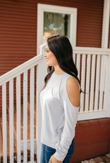 Cloud Cold Shoulder Top