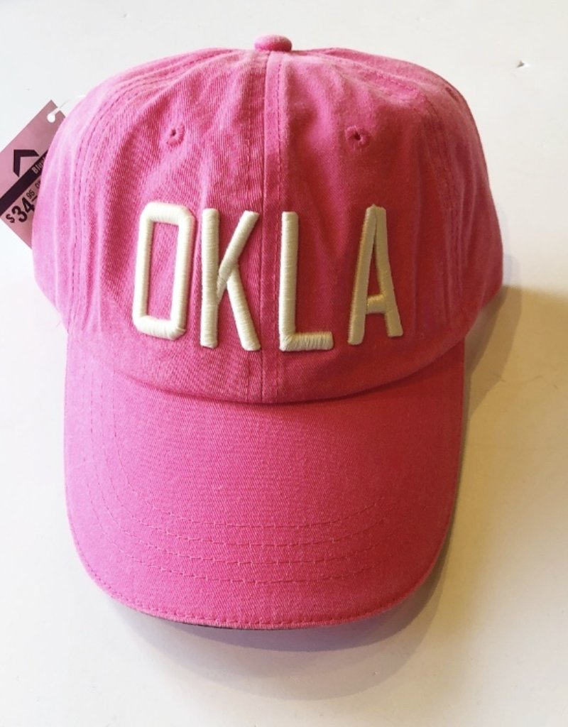 OKLA Hat Hot Pink