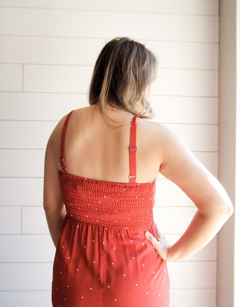 Polka My Dot Red Dress