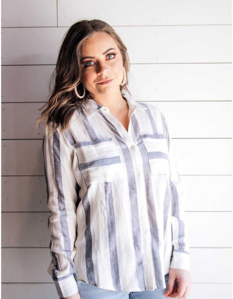 Easy Breezy Striped Shirt