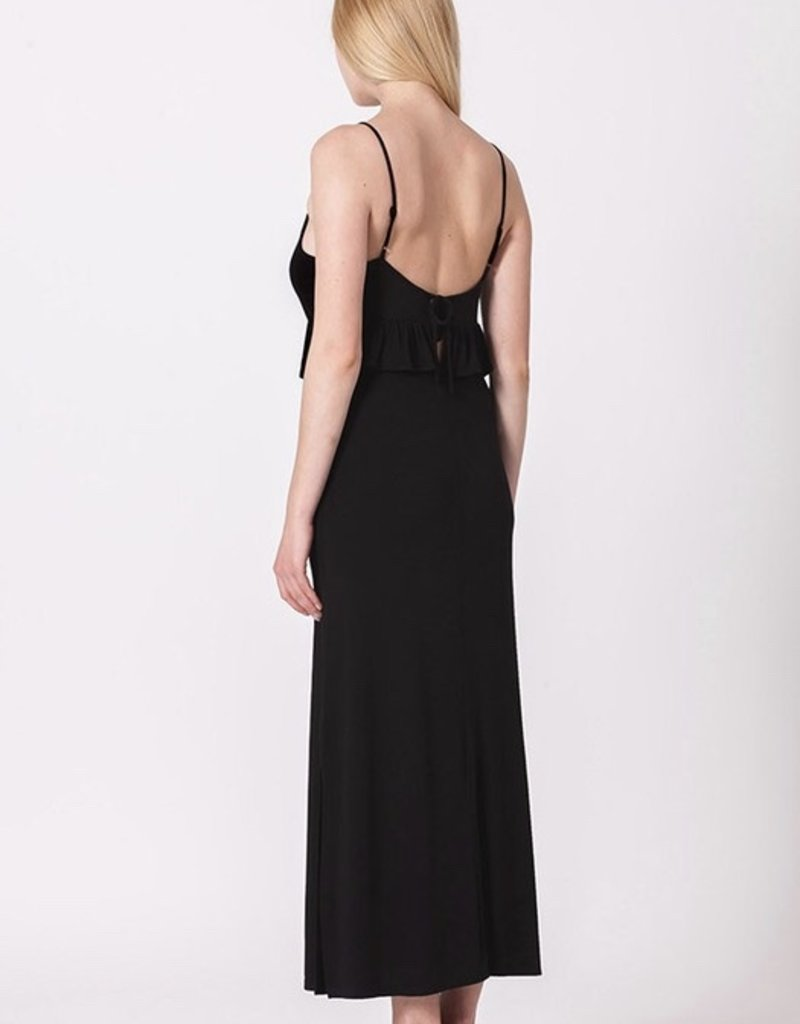 Hey There Black Maxi