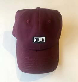 Okla Crimson Patch Hat