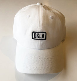 Okla White Patch Hat