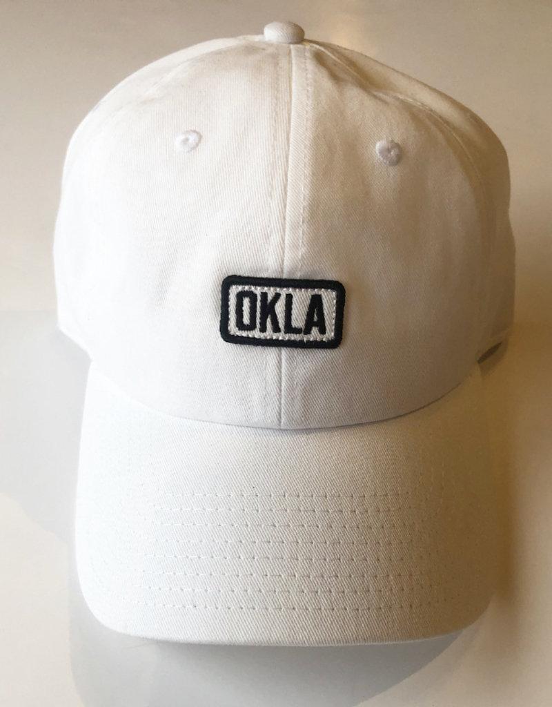 Okla White Patch Hat