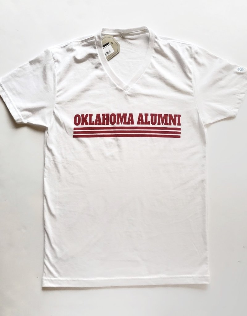 Retro White Alumni t-shirt