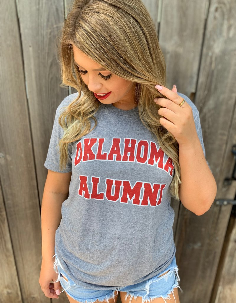 Opolis Grey Vintage Alumni t-shirt