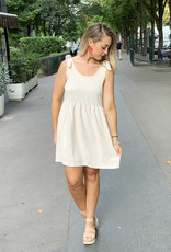 Entro Champagne Pocket Dress