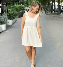 Champagne Pocket Dress