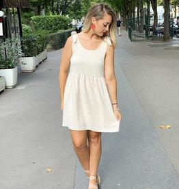 Entro Champagne Pocket Dress