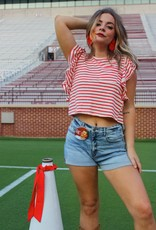 Jolie Ready for Gameday Crop