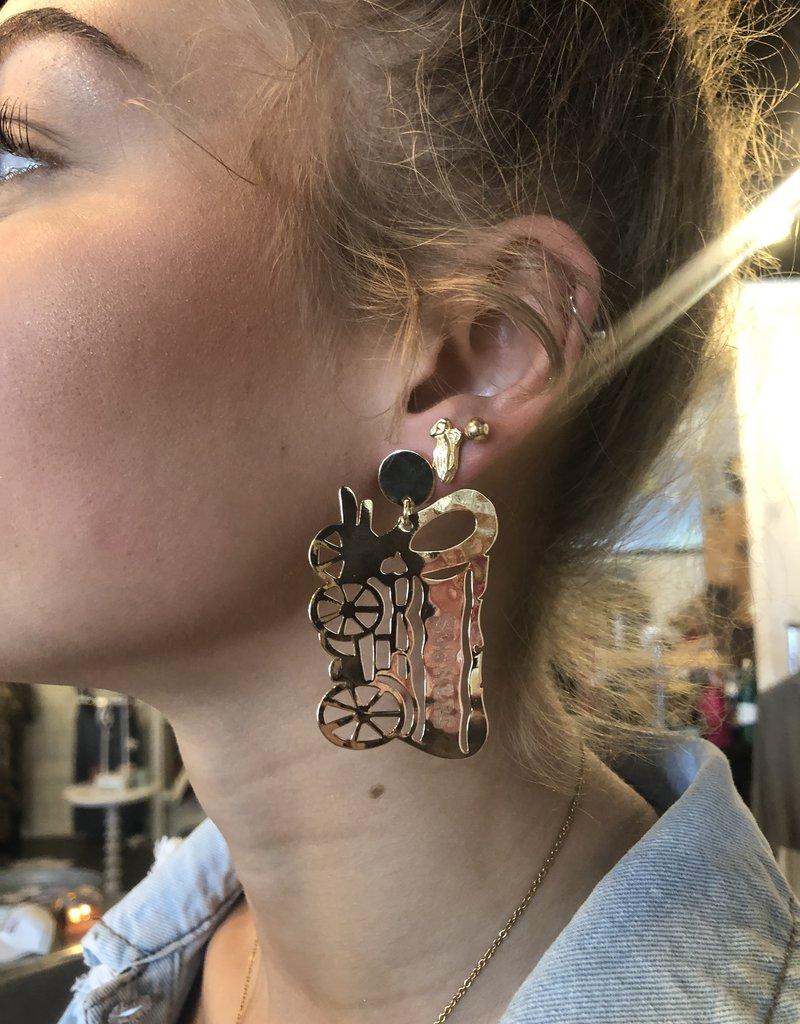 LL Large Schooner Earrings