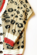 Leopard and Red Gameday Sweater