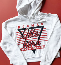 Home of Champions Crop Hoodie