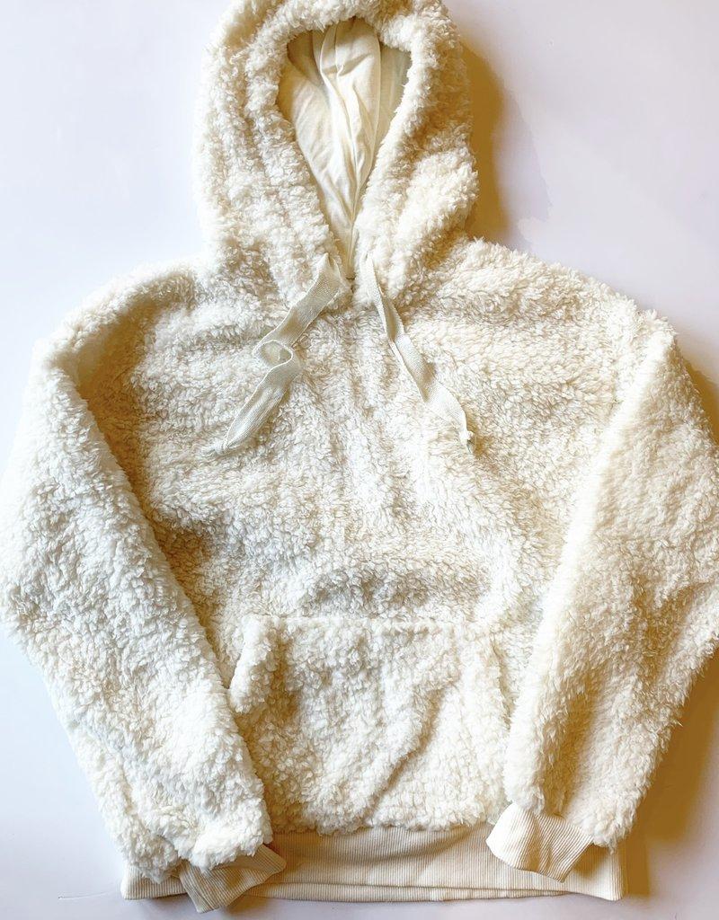 Cream Cozy Pullover