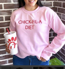 Chick-Fil-A Crop Sweatshirt