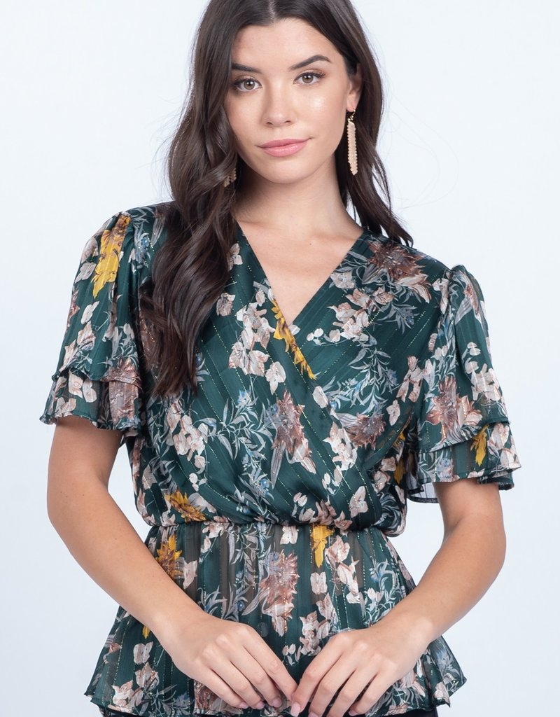 Hunter Floral Top