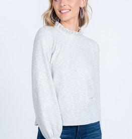 EV Mock Neck Sweater