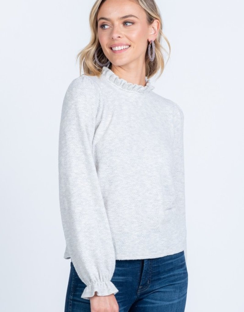 EV Mock Neck Sweater