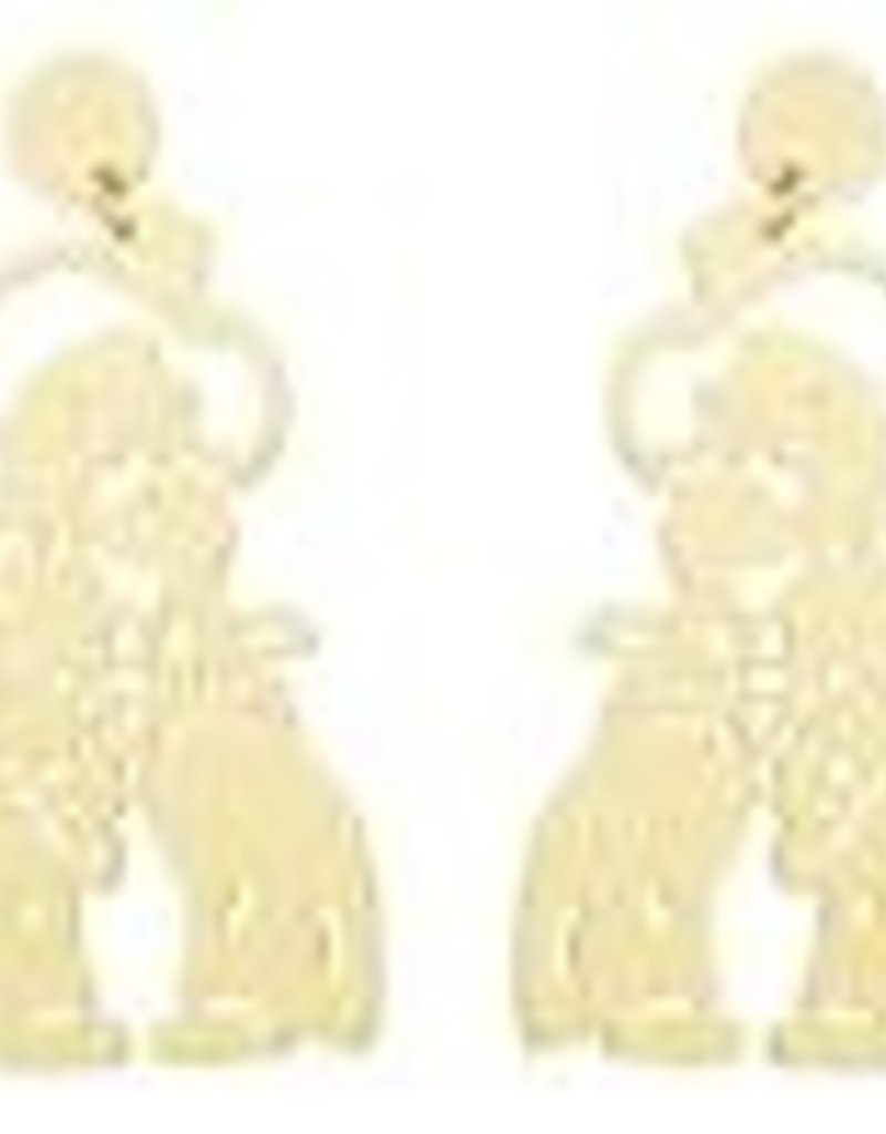 LL Large Pistole Pete Earrings