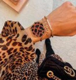 Leopard Hex Adjustable Bracelet