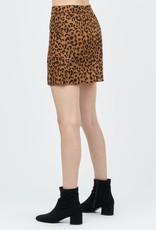 Camel Leopard Skirt