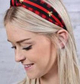 Nathan Plaid Headband