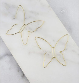 Butterfly Threaded Earring