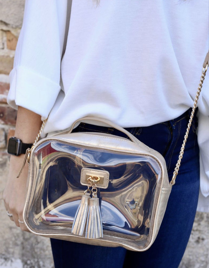 Tinzley Clear Bag Champagne