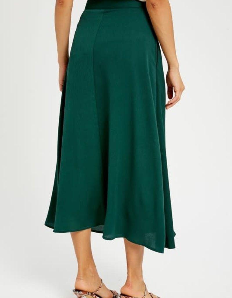 Emerald Midi Skirt