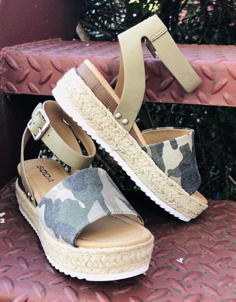 Camo Sandal