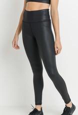 Mono B Faux Leather Leggings