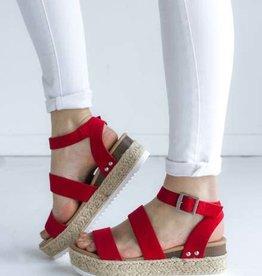 soda Lipstick Red Sandal