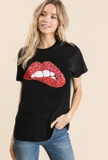 trend shop Love Those Lips Top