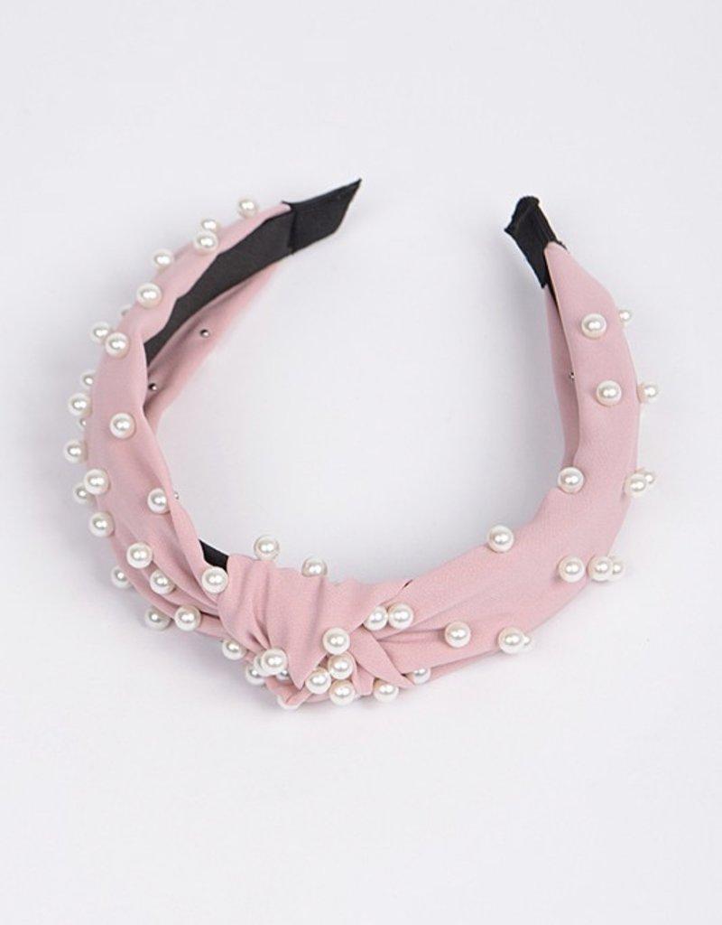 Blush Pink Pearl Headband