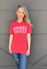 Red Simple Boomer Sooner
