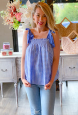 Jorie Gingham Top