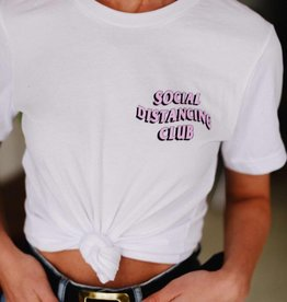 Social Distancing Club Tee