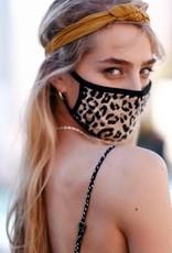 Face mask leopard