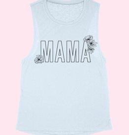 Mama Tank Blue