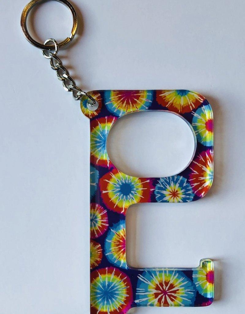 Hands Free Keychain Tie Dye