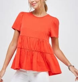 Tomato Baby Doll Top