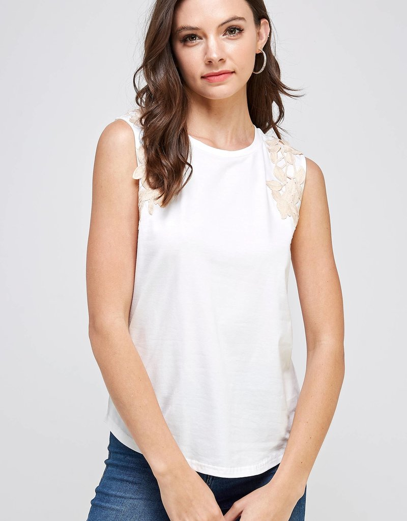 Victoria Sleeveless Top