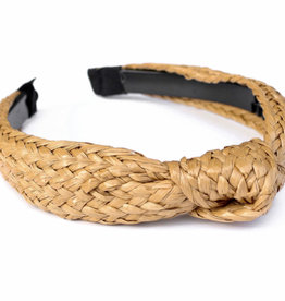 Straw knotted Headband