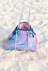 Geode-Pink Neoprene Bag